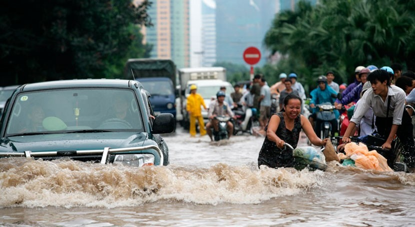 Fallecen al menos 24 personas inundaciones Vietnam
