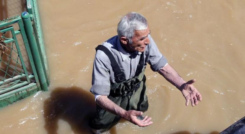 inundaciones Balcanes 2014, vinculadas interferencias corrientes aire