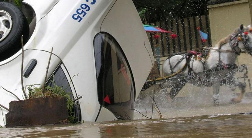 Inundaciones de febrero de 2007 en Yakarta (Wikipedia/CC).