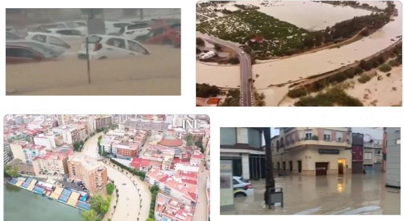 Vega Baja es gran llanura inundación