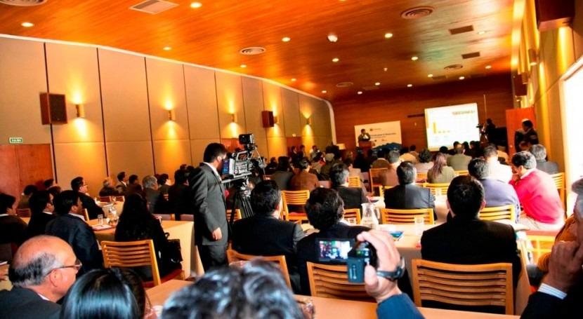 Momento de la Jornada en Puno