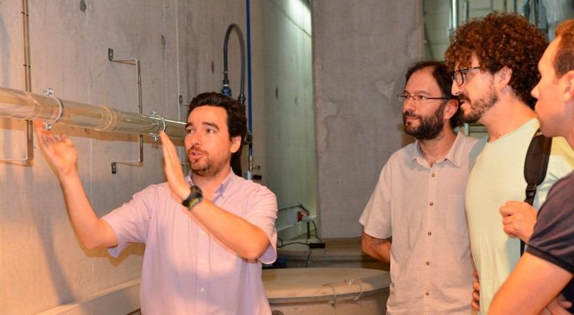 Investigadores Red Laboratorios Hidráulicos España presentan estudios UPCT