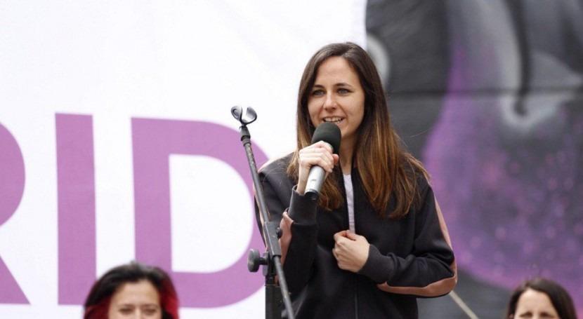 """Ione Belarra (Unidas Podemos): """"Seguimos llevando cabo políticas hídricas años 60"""""""