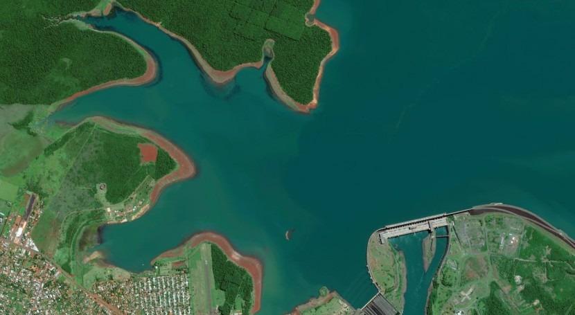 represa Itaipu, 25 mejores fotos espaciales 2014