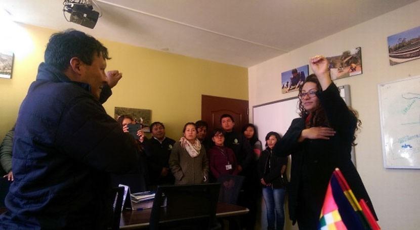Ivana Bellido, nueva Directora General Cuencas y Recursos Hídricos Bolivia