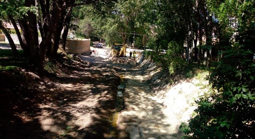CHS realiza trabajos restauración cauces Vereda Jali y rambla Chirivel