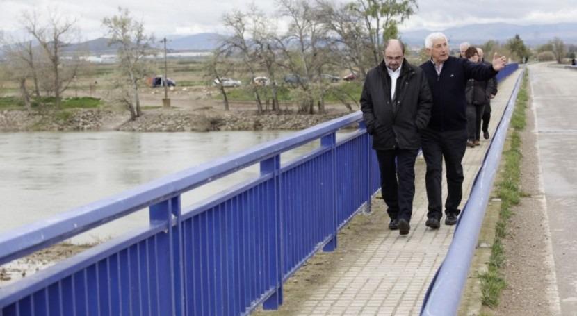 presidente Aragón tacha 'disparate' propuesta ERC Ebro