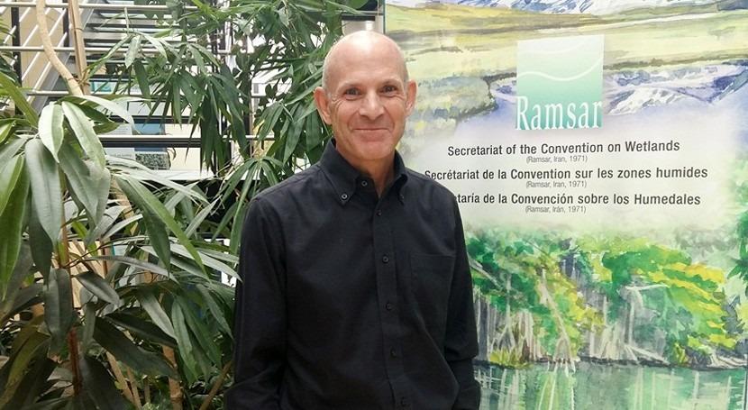 Jay Aldous, nombrado Secretario General Adjunto Convención Ramsar