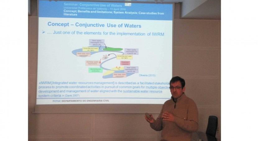 importancia uso conjunto sistema aguas como elemento integrador y eficiente