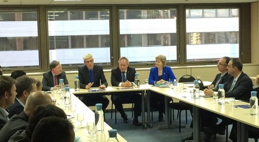 Dinamarca y España firman acuerdo colaboración gestión eficiente agua