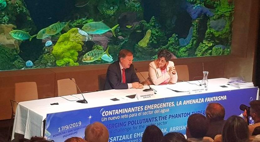 Fernando Morcillo destaca preocupación sector agua contaminantes emergentes