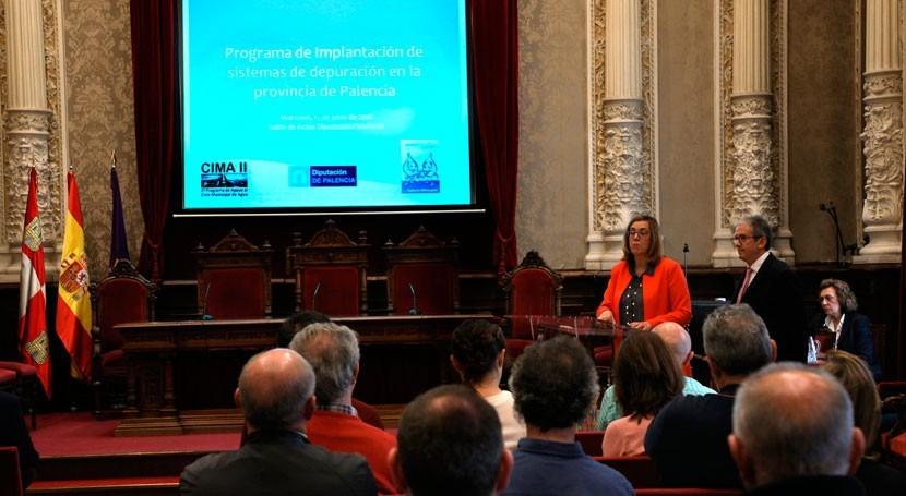 Palencia acoge jornada sistemas depuración aguas residuales
