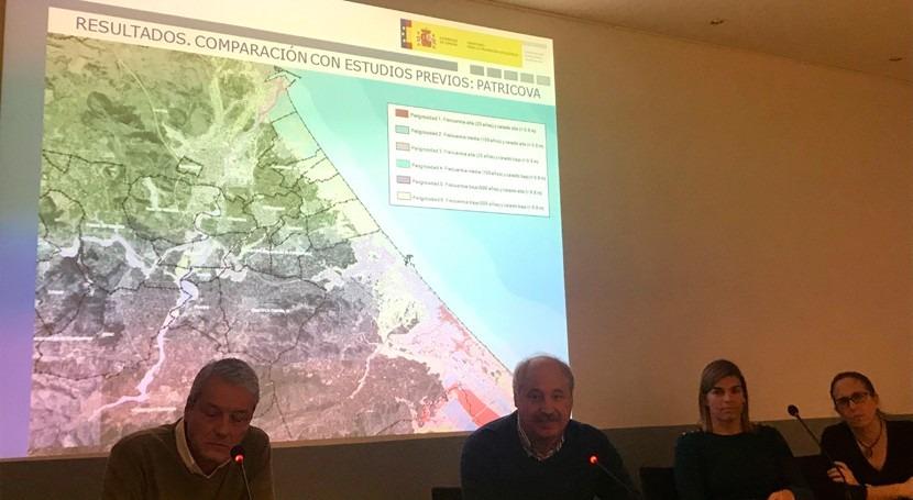 CHJ revisa mapas peligrosidad Plan Gestión Riesgo Inundación