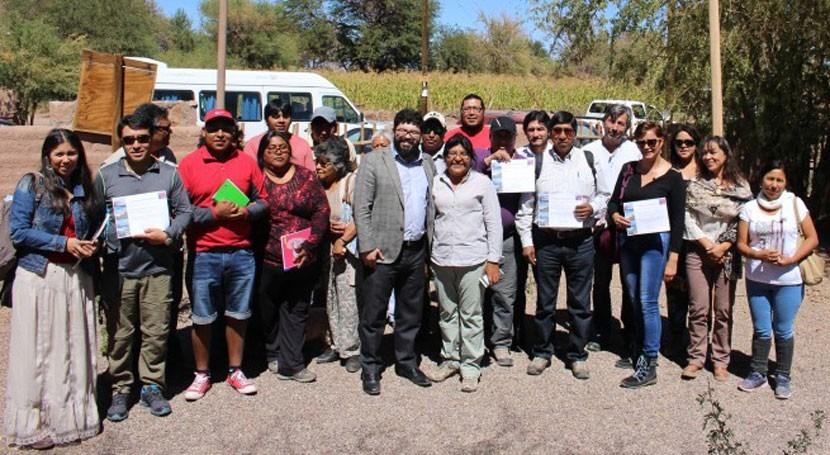 Gobierno chileno difunde San Pedro Atacama importancia humedales