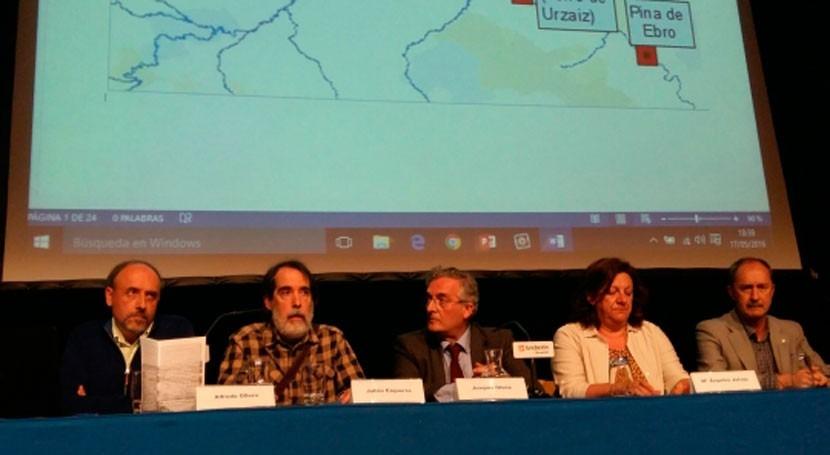 Aragón se compromete gestión sostenible avenidas
