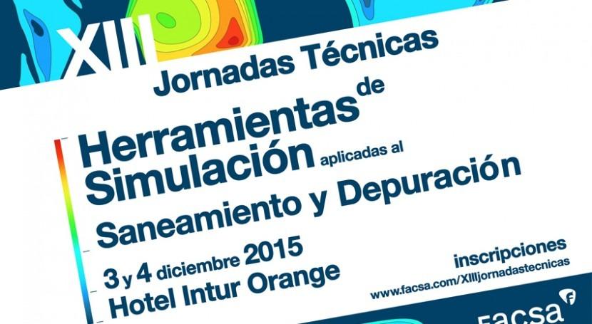 XIII Jornadas Técnicas FACSA se celebran próximos 3 y 4 diciembre