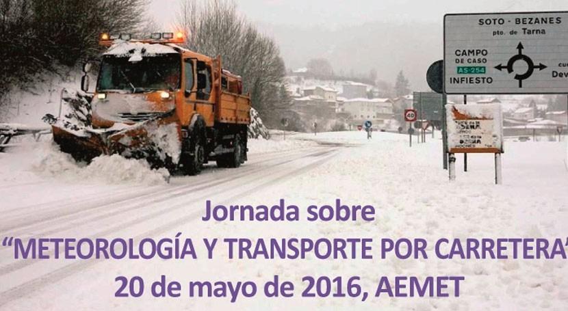 AEMET organiza jornada necesidades meteorológicas sector transporte