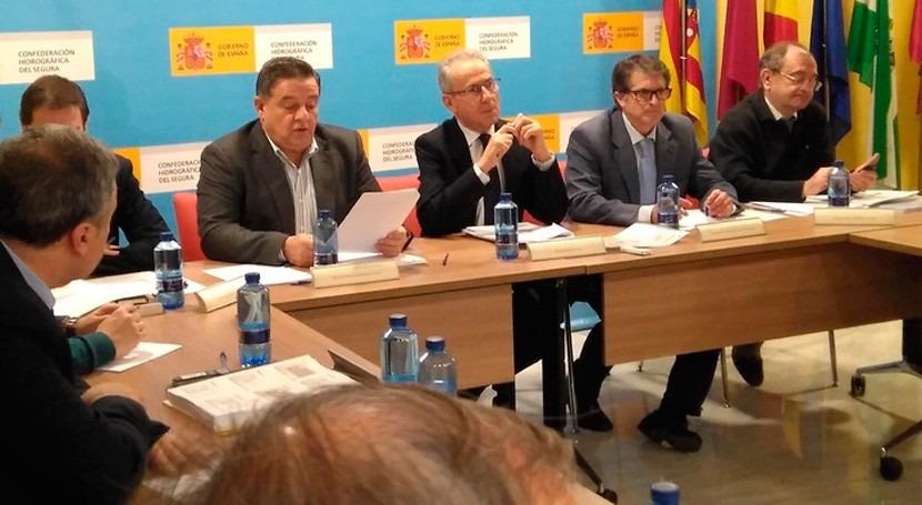 Gobierno Murcia apoya prórroga medidas ahorro falta lluvias