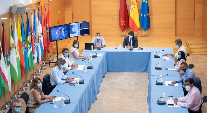 Gobierno Murcia reclama competencias costas y cuenca vertiente al Mar Menor