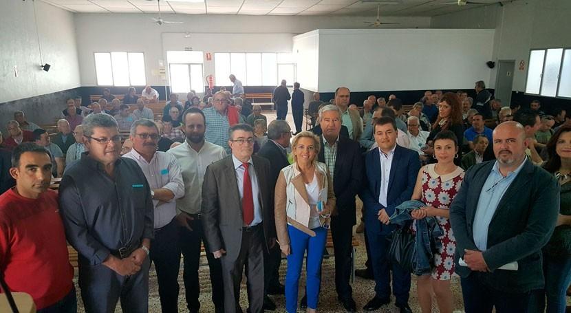 Inversión 13,8 millones euros modernización regadíos Pliego