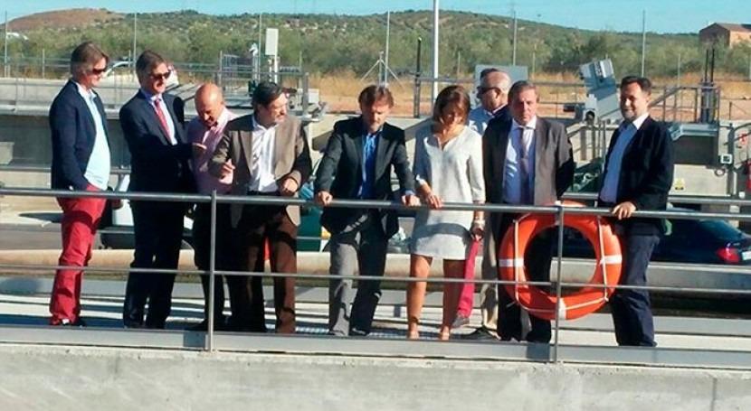 Alcaudete estrena nueva EDAR inversión 3,7 millones euros