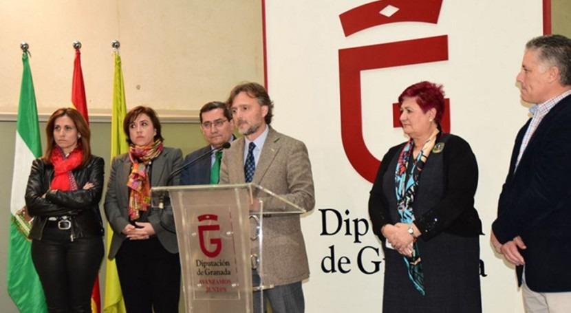 Junta Andalucía y Diputación Granada agilizarán construcción nuevas depuradoras