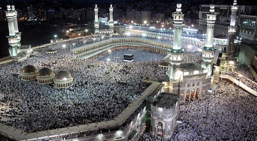OMS recomienda peregrinos Meca lavarse manos agua y jabón