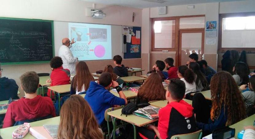 control calidad agua potable llega Educación Secundaria gracias LABAQUA