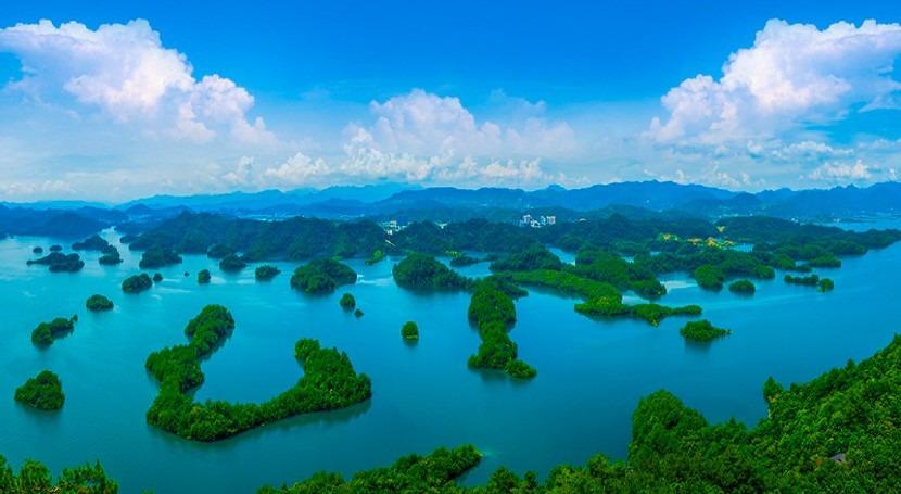 Descubre Lago Qiandao, espejo agua chino