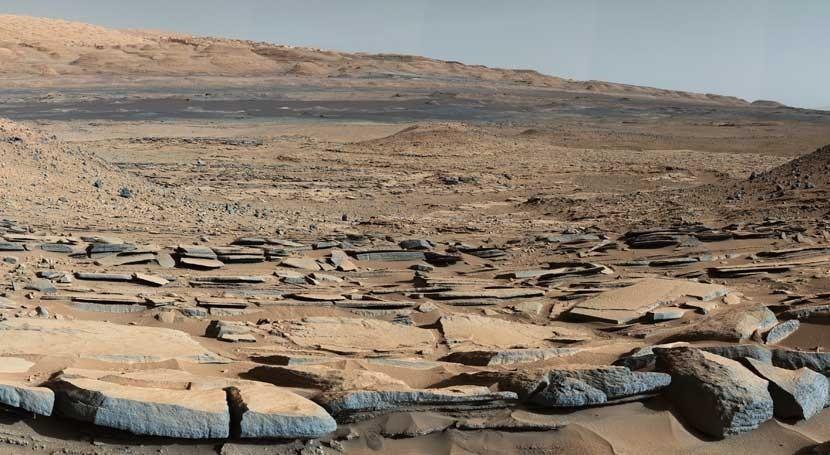 Nuevas evidencias antiguos lagos y deltas Marte