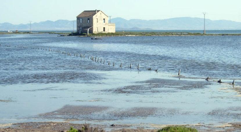 nivel nitratos Mar Menor es 17 veces inferior al registrado al principio verano