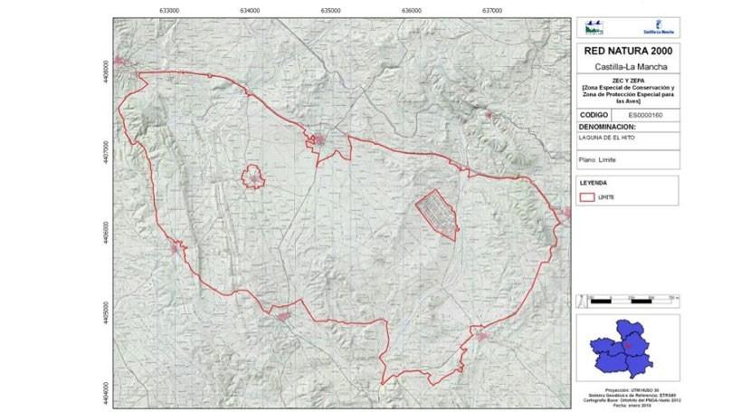 Avanza proceso ampliación Espacio Natura 2000 Laguna Hito