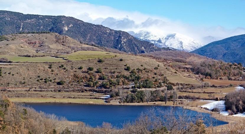 laguna Montcortès desvela huella ecológica cambio climático últimos 500 años