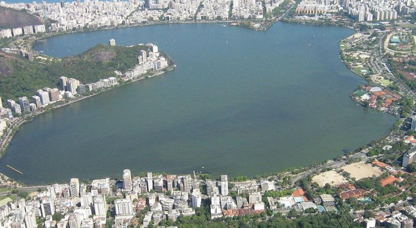 La laguna Rodrigo de Freitas (Wikipedia/CC).