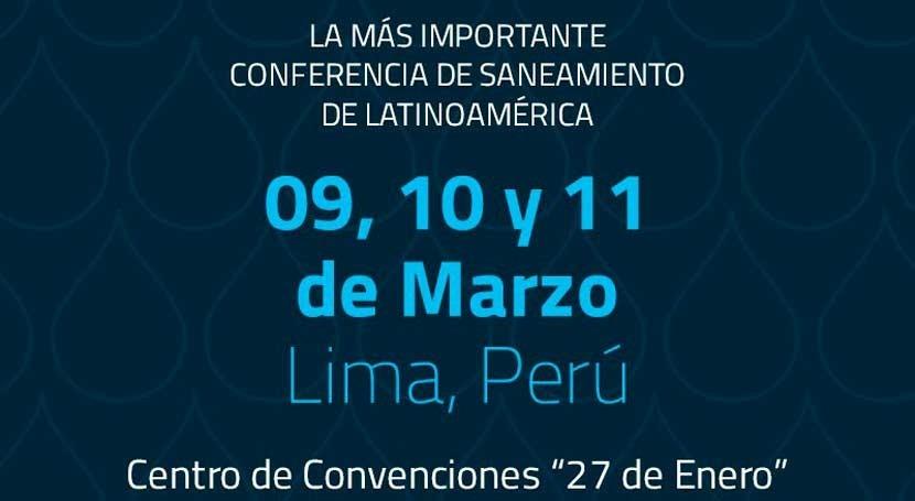 Perú acoge primera vez Conferencia Latinoamericana Saneamiento
