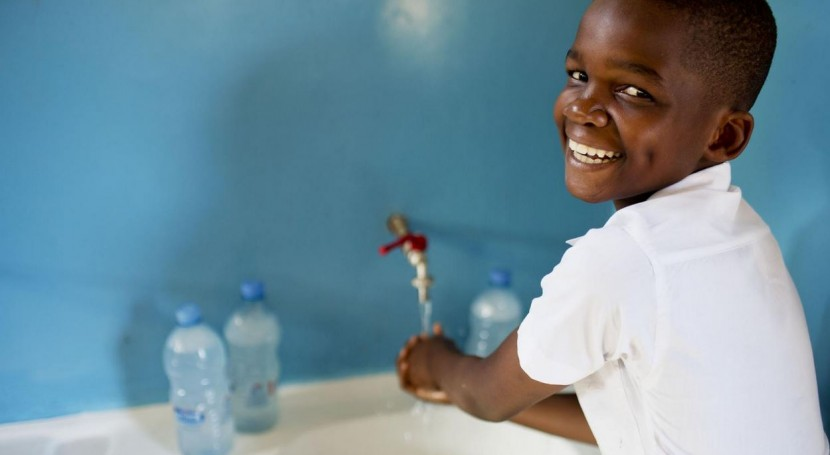 Día Mundial Lavado Manos: - diarrea - desnutrición + vida =)