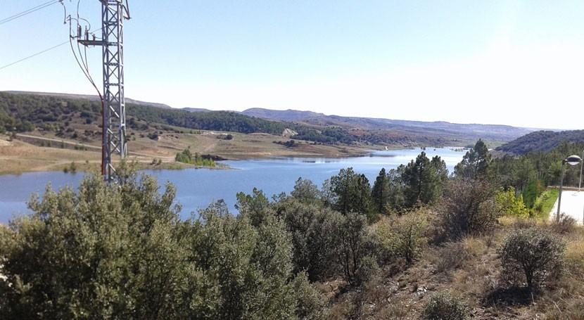 Confederación Ebro avanza puesta carga embalse Lechago Teruel