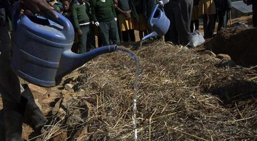 Lesotho se adapta al cambio climático través huertos familiares