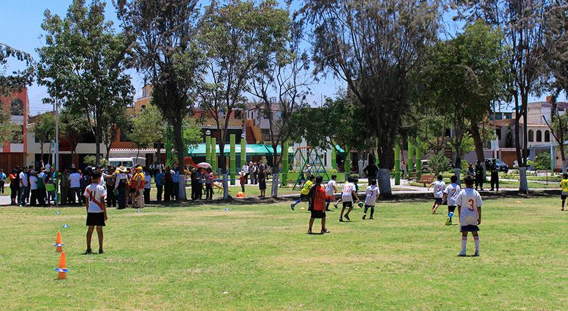 ANA Perú entrega licencia riego áreas verdes al primer municipio arequipeño solicitarlo