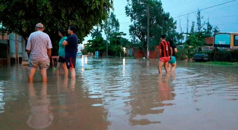 Más 1.200 familias Limpio reclaman lagunas atenuación evitar inundaciones