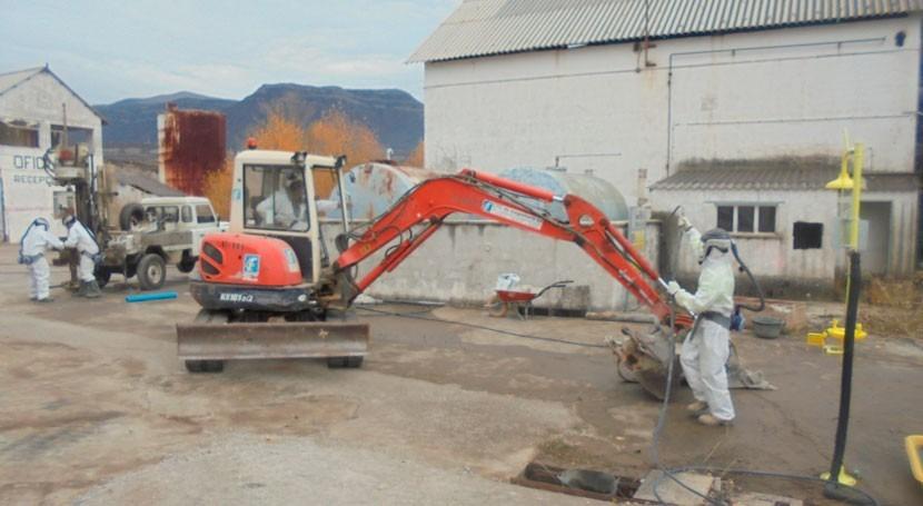 Convenio MAPAMA y Aragón abordar gestión descontaminación lindano