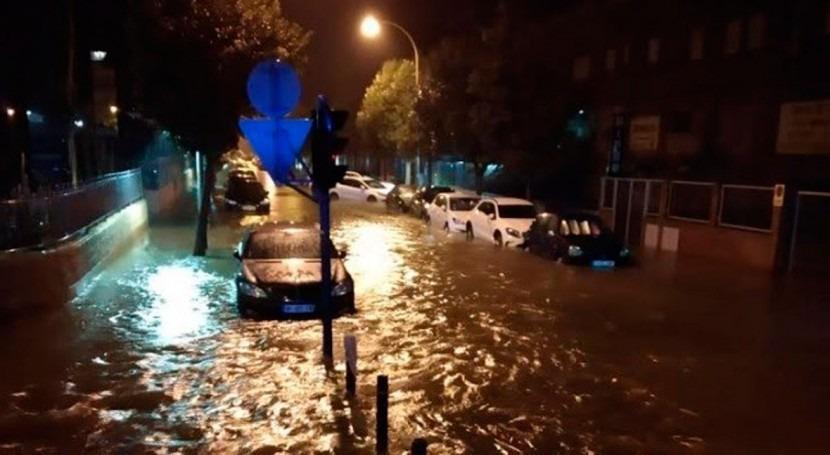 Alicante vive día verano más precipitación acumulada 160 años, 86,6 lm2