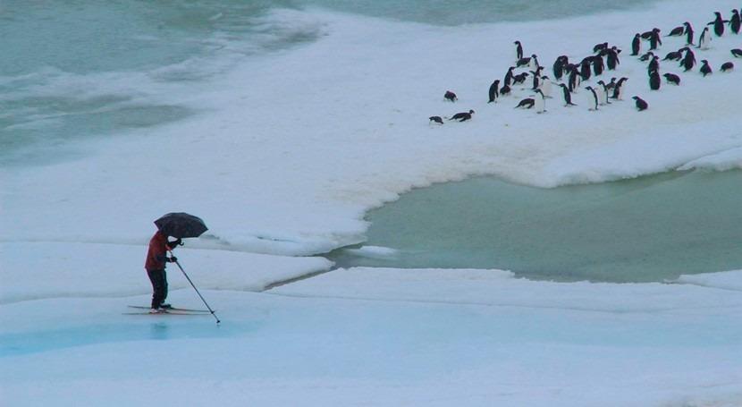 calentamiento disparará lluvias costeras Antártida