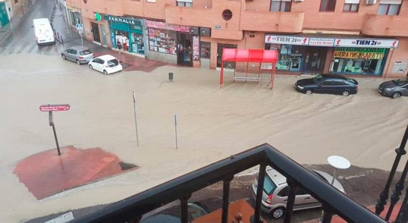 """""""gota fría"""" dejó lluvias torrenciales y 26.000 rayos columna central Península"""