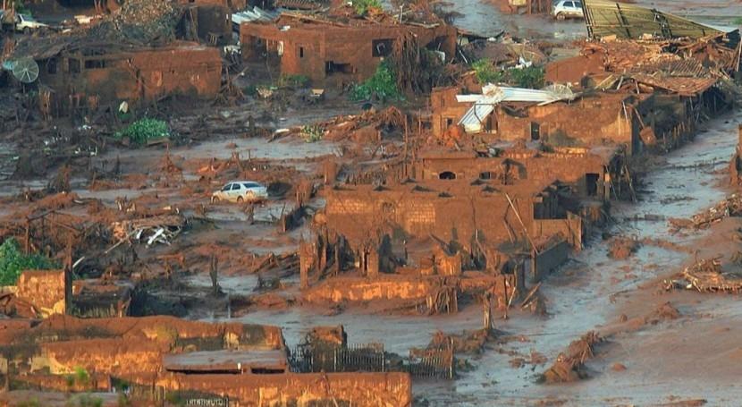 lodo liberado derrumbe presa Brasil es tóxico
