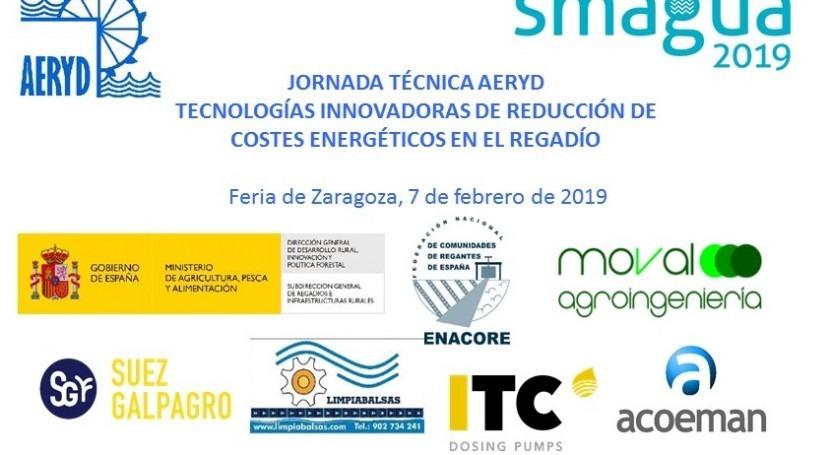 Jornada Técnica AERYD-SMAGUA 7-2-2019