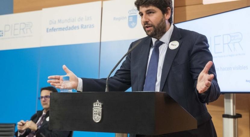 "López Mirás: "" Pacto Regional Agua blinda siempre Trasvase Tajo-Segura"""
