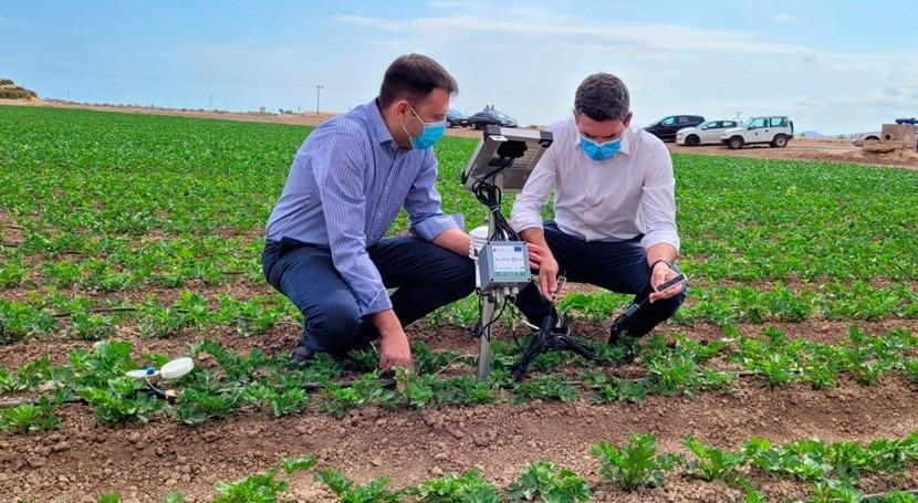 Murcia instala 1.000 sondas entorno Mar Menor garantizar eficiencia hídrica