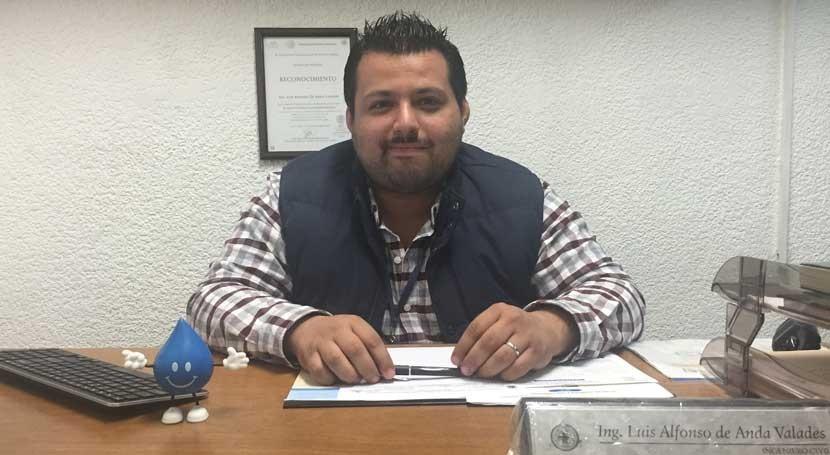 """Luis Anda: """" agua es vital todos ámbitos vida, y ellos es trabajo"""""""