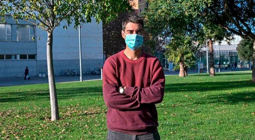 """Luis Guanter: """" LARS convertimos datos satélites información útil medio ambiente"""""""
